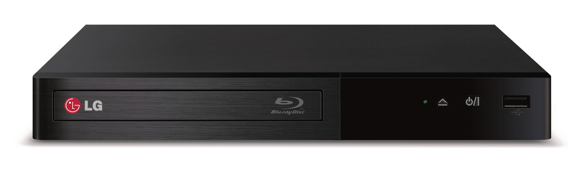 LG Electronics DVD and Blu-Ray Players BP340 Smart Blu-ray Disc® Player - Item Number: BP340
