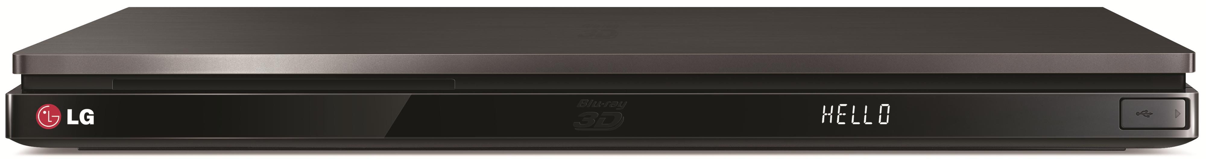 LG Electronics DVD and Blu-Ray Players 3D Blu-Ray Player - Item Number: BP730