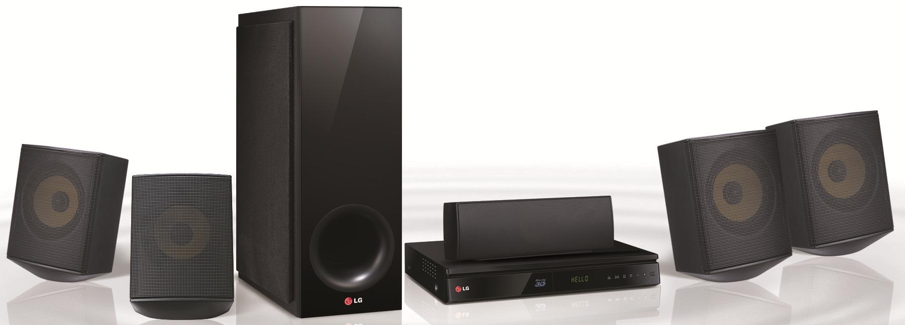 LG Electronics Home Theater 5.1 Channel Home Theater System - Item Number: BH6730S