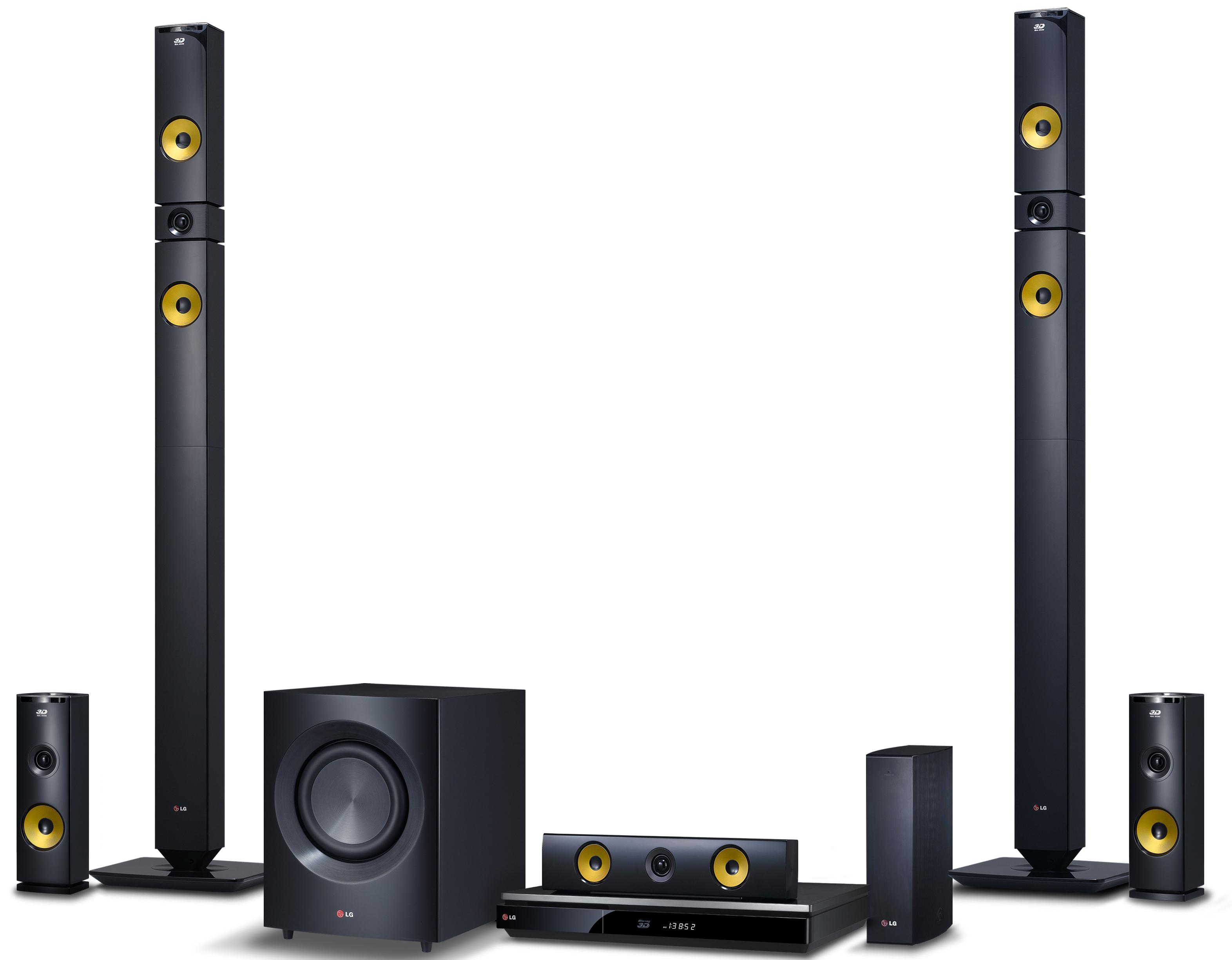 LG Electronics Home Theater 9.1 Channel Home Theater System - Item Number: BH9430PW