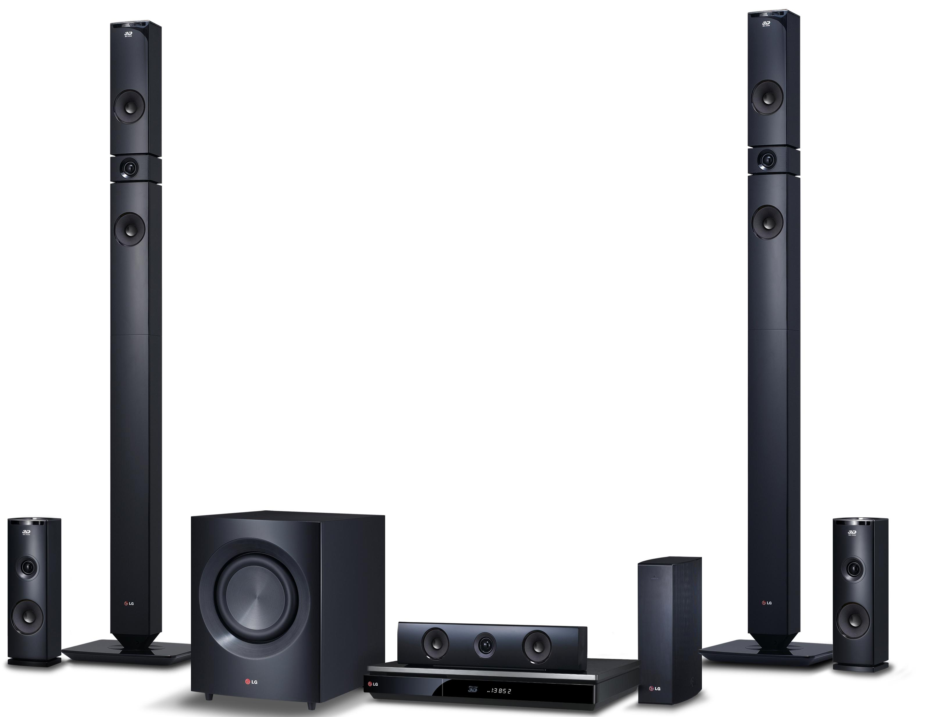 LG Electronics Home Theater 9.1 Channel Home Theater System - Item Number: BH9431PW