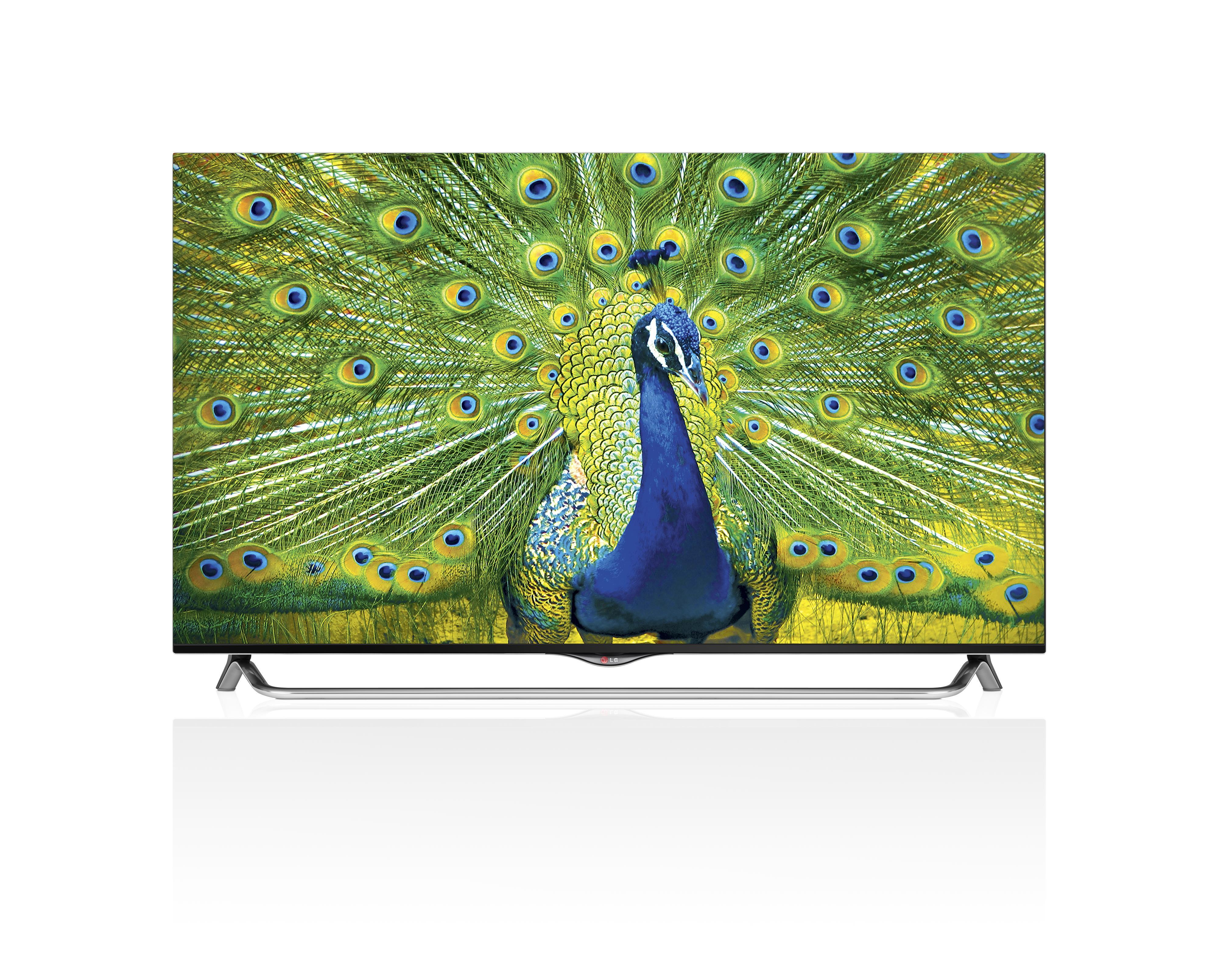 """LG Electronics LG LED TV - 2014 55"""" 2160P 4K HD SMART TV - Item Number: 55UB8500"""