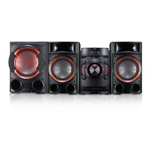 LG Electronics LG Home Audio 1200W CD Mini HiFi Shelf Speaker System
