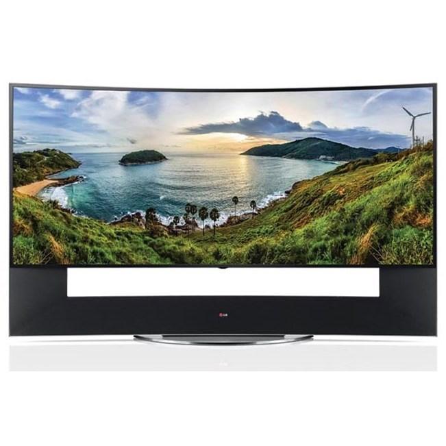 "LG Electronics LG LED 2016 Curved 4K UHD Smart LED TV - 105"" - Item Number: 105UC9"