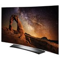 LG Electronics LG OLED 2016 C6 OLED 4K Curved Smart TV - 55