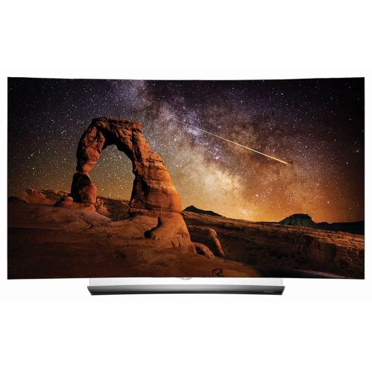 "LG Electronics LG OLED 2016 C6 OLED 4K Curved Smart TV - 65"" Class - Item Number: OLED65C6P"