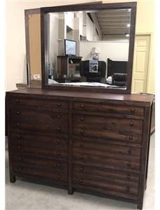 LG Interiors Brooklyn Brown Wood Dresser