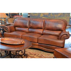 LG Interiors Cowboy Leather Sofa