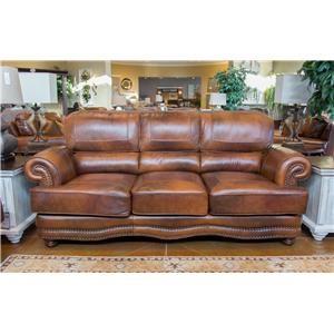 LG Interiors Cowboy Leather Sofa
