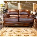 LG Interiors Cowboy Leather Loveseat - Item Number: D6266-02