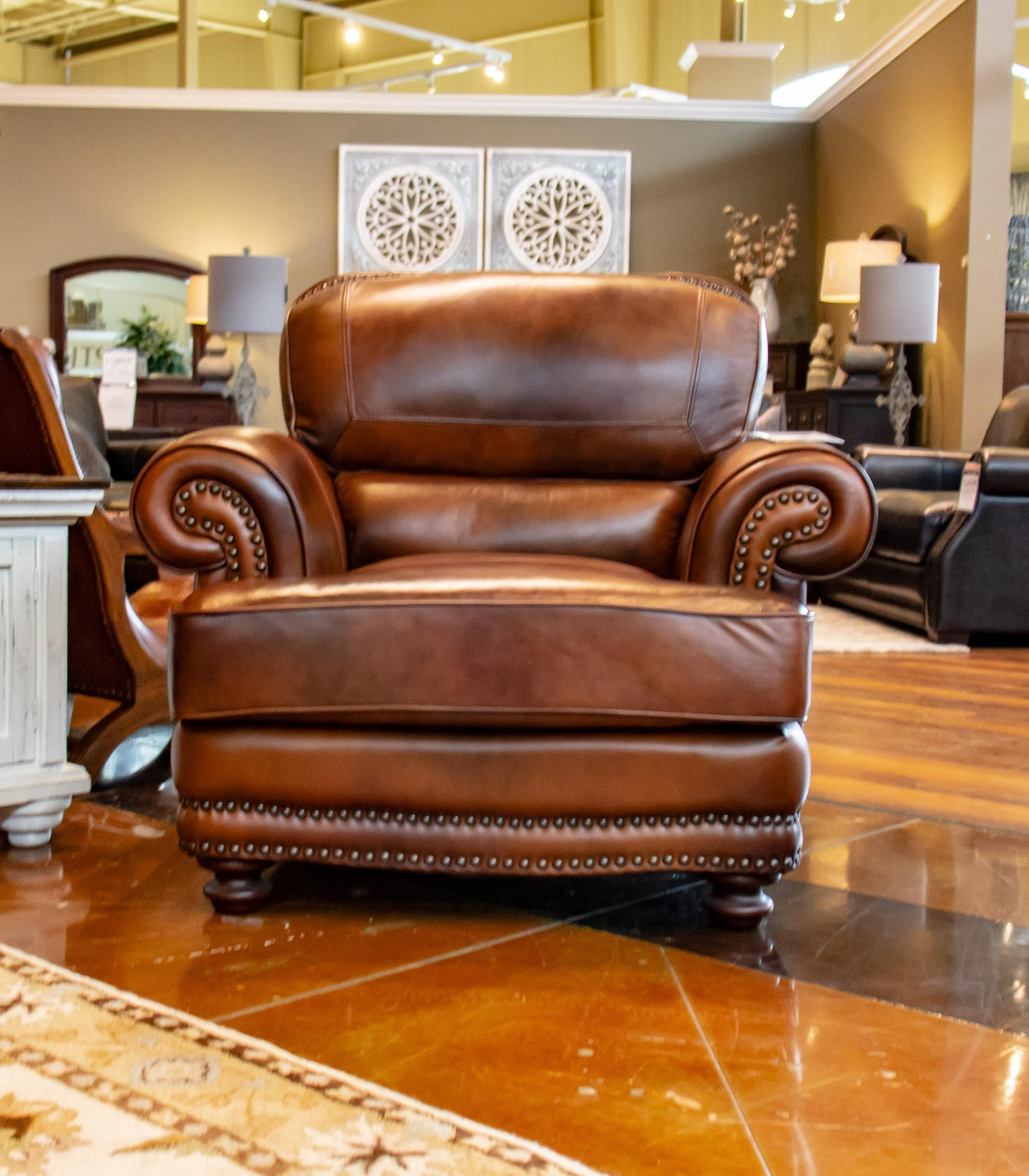 LG Interiors Cowboy D6266-06,04234 Leather Chair