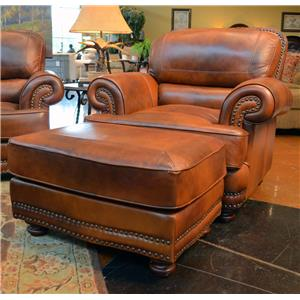 LG Interiors Cowboy Leather Chair