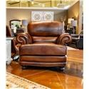 LG Interiors Cowboy Leather Chair - Item Number: D6266-06