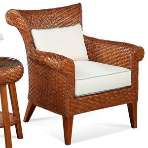 Braxton Culler Laurel  Wicker and Rattan Chiar