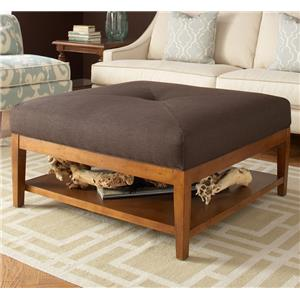 Libby Langdon Taylor Ottoman by Libby Langdon for Braxton Culler