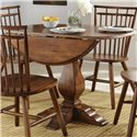 Liberty Furniture Creations II 3PC Dining Set - Item Number: 38-T4242+P4242+2xC4000S