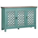 Liberty Furniture Kensington Transitional Accent Chest with 3 Doors