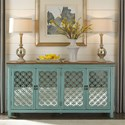 Liberty Furniture Kensington Transitional Accent Chest with 4 Doors