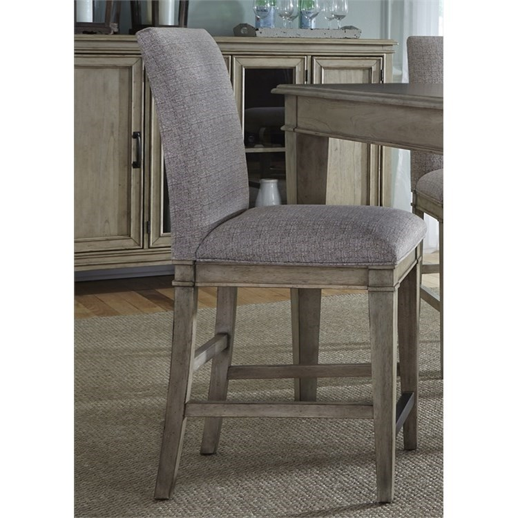 Liberty Furniture 573 Upholstered Barstool - Item Number: 573-B650124