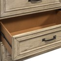 Liberty Furniture 573 Transitional 6 Drawer Dresser with Dovetail Joinery