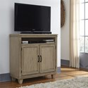Liberty Furniture 573 Transitional Media Chest with Wire Management