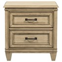 Liberty Furniture 573 2 Drawer Night Stand - Item Number: 573-BR61