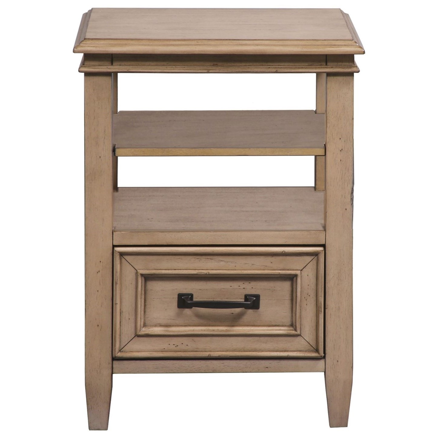 Liberty Furniture 573 Open Night Stand - Item Number: 573-BR62