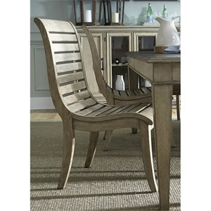 Vendor 5349 573 Slat Back Side Chair