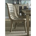 Vendor 5349 573 Slat Back Side Chair - Item Number: 573-C1500S