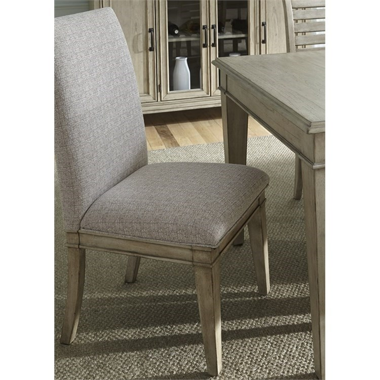 Liberty Furniture 573 Upholstered Side Chair - Item Number: 573-C6501S