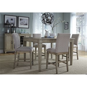 Liberty Furniture 573 5 Piece Gathering Table Set