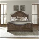 Liberty Furniture Haven Hall King Panel Bed w/Rails - Item Number: GRP-685-KINGBED