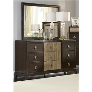 Liberty Furniture Manhattan Dresser & Mirror