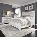 Liberty Furniture Abbey Park King Bedroom Group - Item Number: 520-BR-KPBDMC