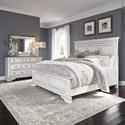 Liberty Furniture Abbey Park Queen Bedroom Group - Item Number: 520-BR-QPBDM