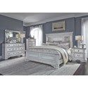 Liberty Furniture Abbey Park King Bedroom Group - Item Number: 520-BR-KPBDMCN