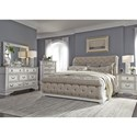 Sarah Randolph Designs Abbey Park Queen Bedroom Group - Item Number: 520-BR-QUSLDMCN
