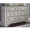 Liberty Furniture Abbey Park Dresser - Item Number: 520-BR31