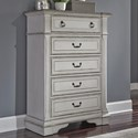 Liberty Furniture Abbey Park Chest of Drawers - Item Number: 520-BR41