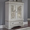Liberty Furniture Abbey Park Chest with Doors - Item Number: 520-BR42