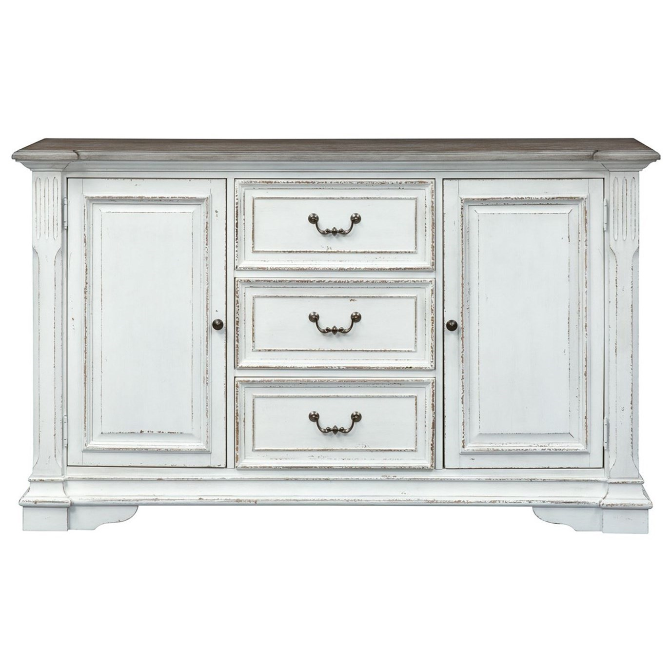 Abbey Park Buffet by Liberty Furniture at Pedigo Furniture