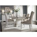 Liberty Furniture Abbey Park 5 Piece Dining Set - Item Number: 520DRK1