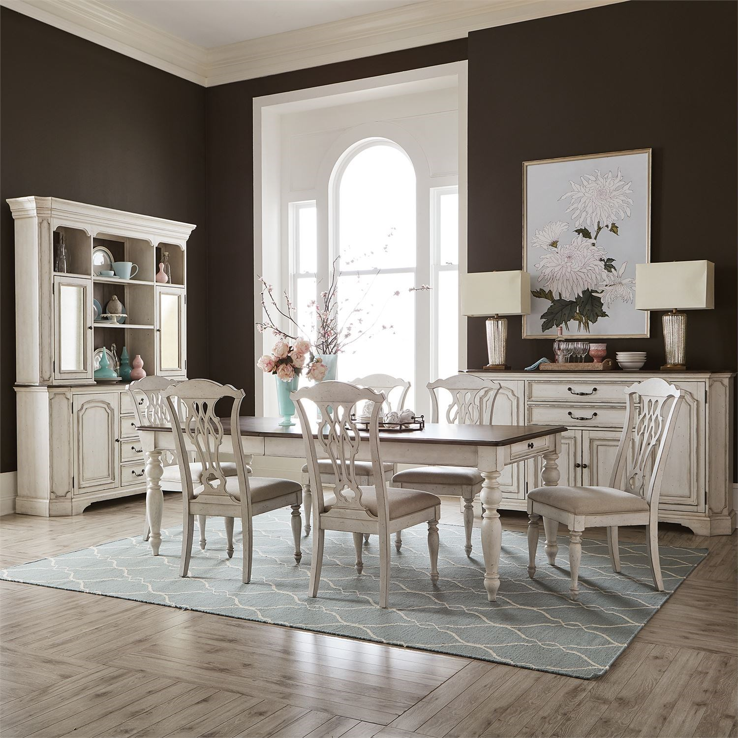 Abbey Road Formal Dining Room Group by Liberty Furniture at Steger's Furniture
