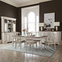 Liberty Furniture Abbey Road Formal Dining Room Group - Item Number: 455W Dining Room Group 2