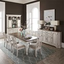 Liberty Furniture Abbey Road Formal Dining Room Group - Item Number: 455W Dining Room Group 3