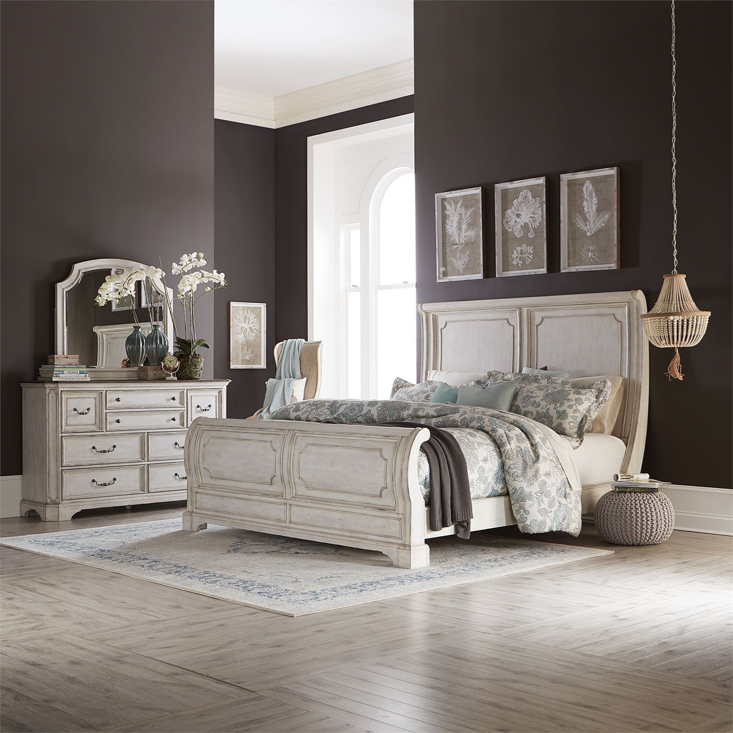 Abbey Road Queen Bedroom Group by Liberty Furniture at Coconis Furniture & Mattress 1st