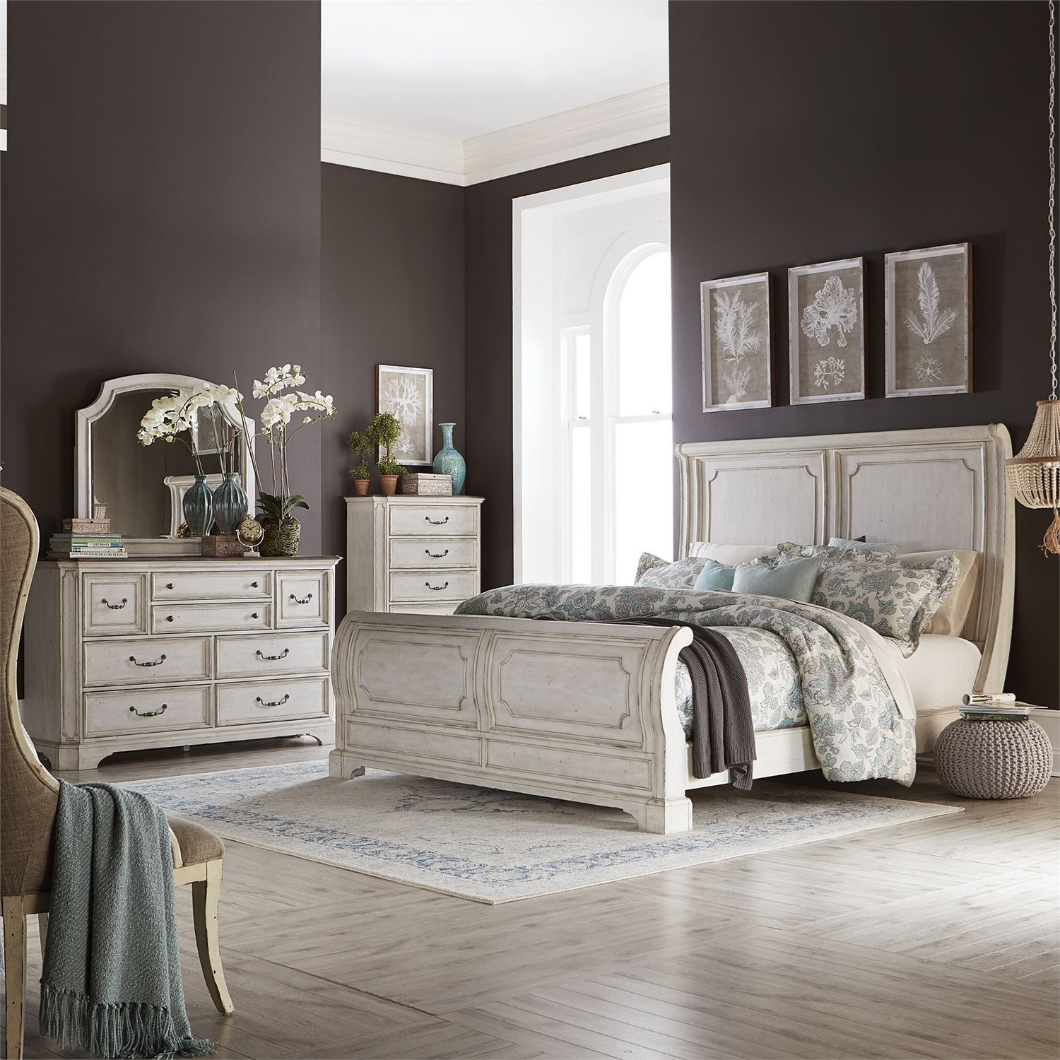 Abbey Road Queen Bedroom Group by Liberty Furniture at Steger's Furniture