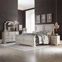 Liberty Furniture Abbey Road California King Bedroom Group - Item Number: 455W-BR-CSLDMN