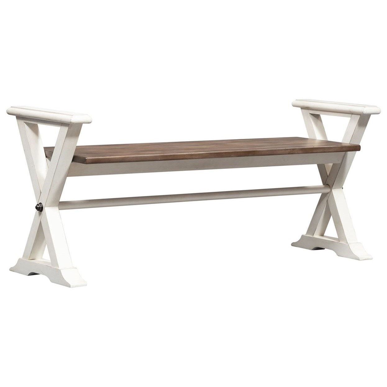 Abbey Road Bed Bench by Liberty Furniture at Home Collections Furniture