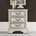Liberty Furniture Abbey Road 3-Drawer Nightstand - Item Number: 455W-BR62